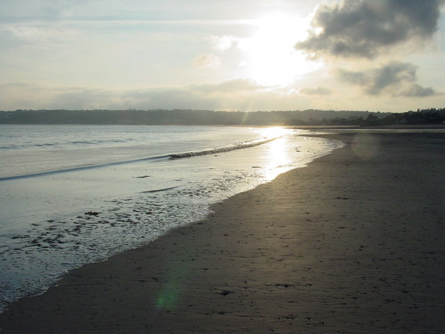 Beach below Bellozanne, St Aubin's Bay