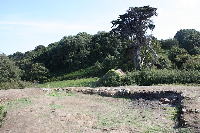 Le Couperon gun battery