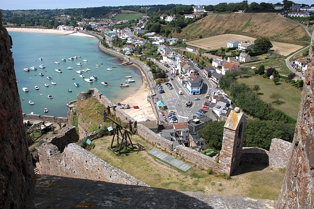Gorey from the castle