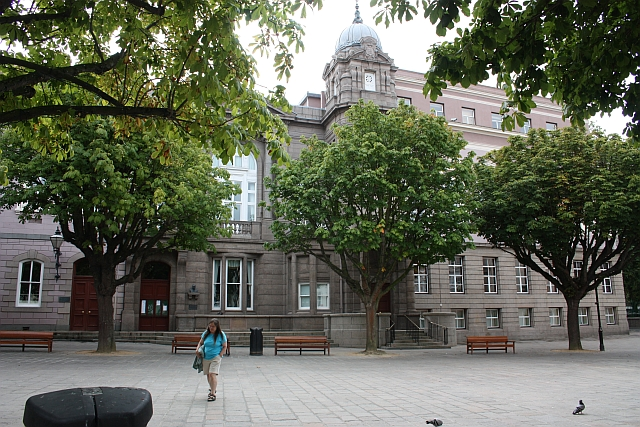 Government buildings, Royal Square, St Helier