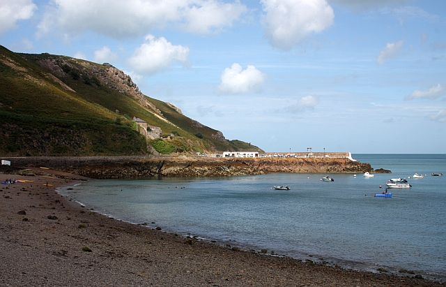 The pier, Bouley Bay