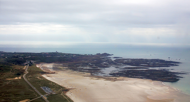 La Corbiere from the air.