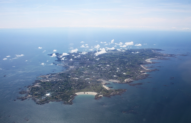 Guernsey from the air