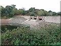 WV6949 : Dam in Queen's Valley Reservoir by Oliver Dixon