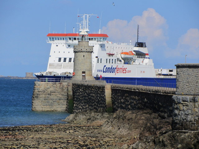 Castle Pier & Lighthouse, St Peter Port