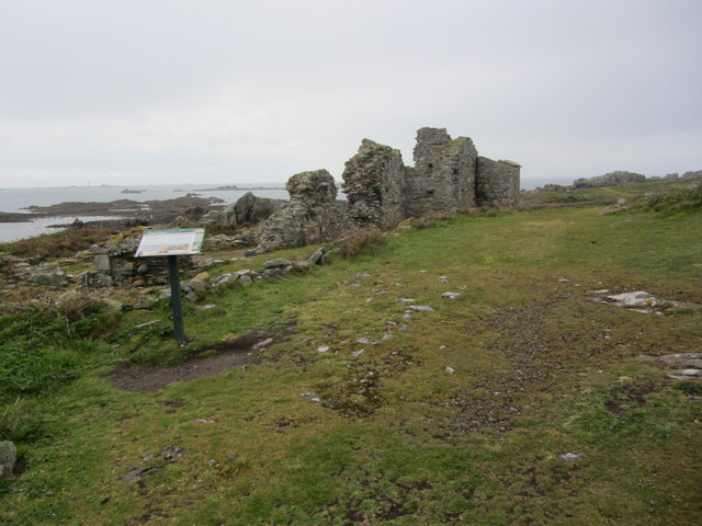Remains of St Mary's Priory, Lihou Island