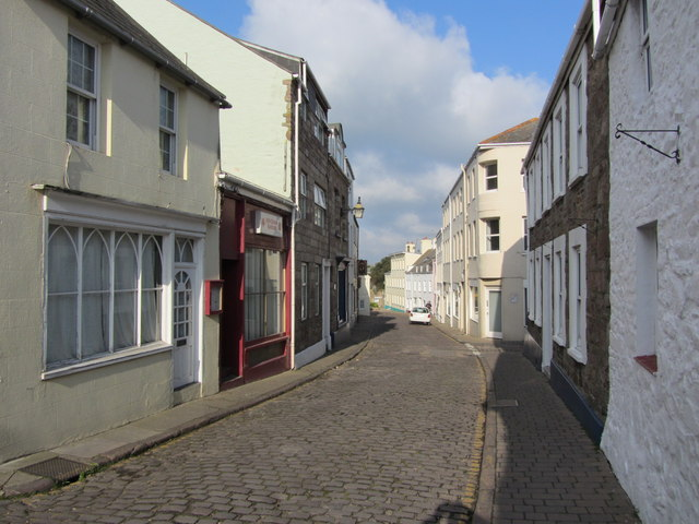 View west along High Street, St Anne