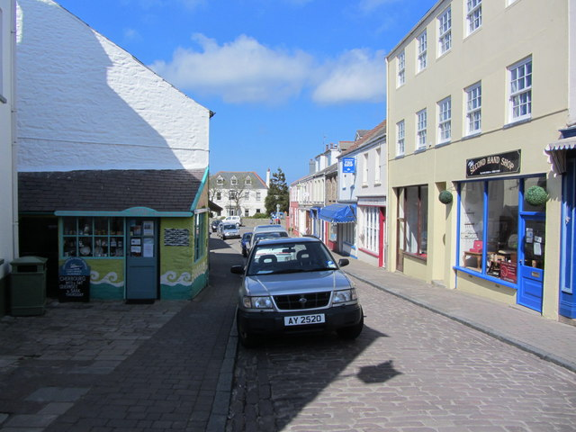 The northern part of Victoria Street, St Anne