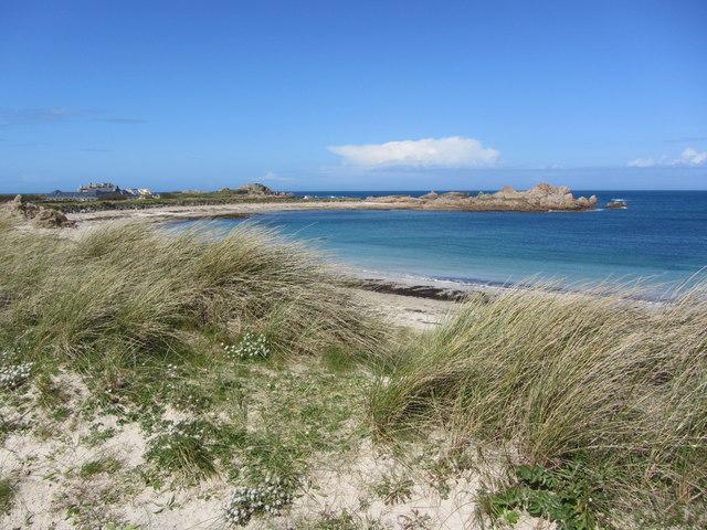 Dunes & beach at Port Soif
