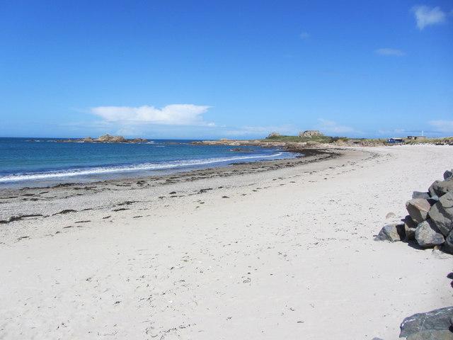 The beach at Saline Bay