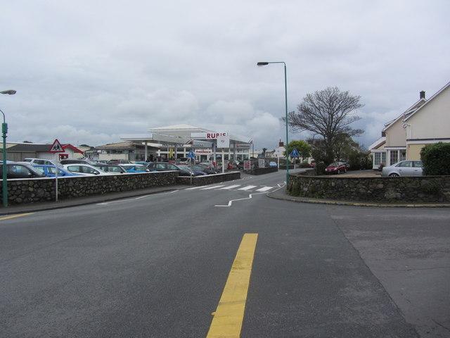 View west along La Route du Braye, St Sampson