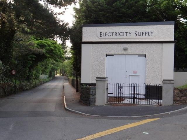 Utility building on the Rue de la Masse