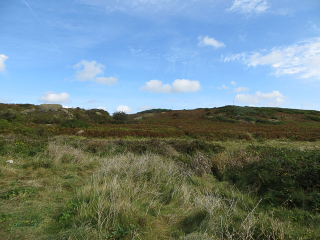 Mannez Garenne from Longis Common