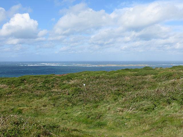 Burhou from Alderney