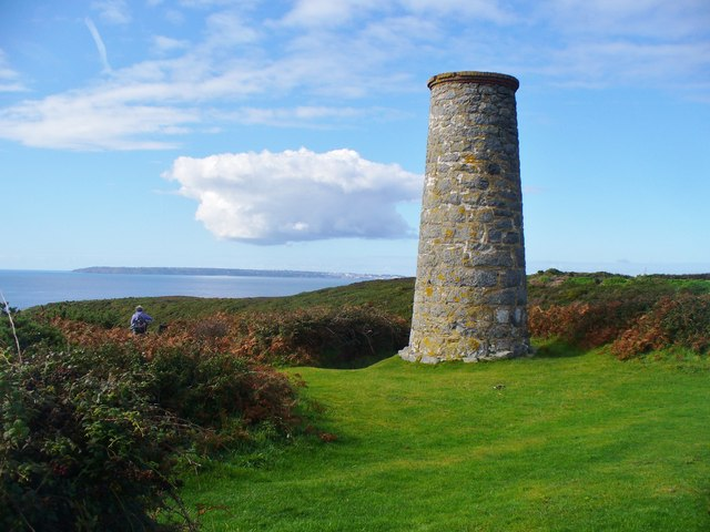 Little Sark - Silver Mine Chimney