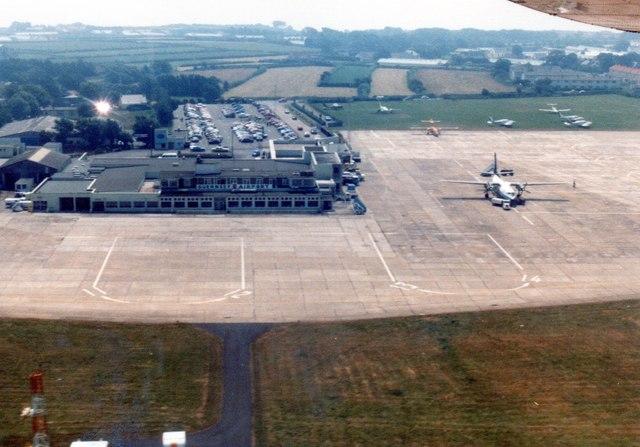 Guernsey airport 1983
