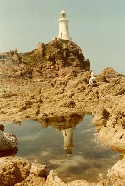 La Corbiere Lighthouse, Jersey, CI
