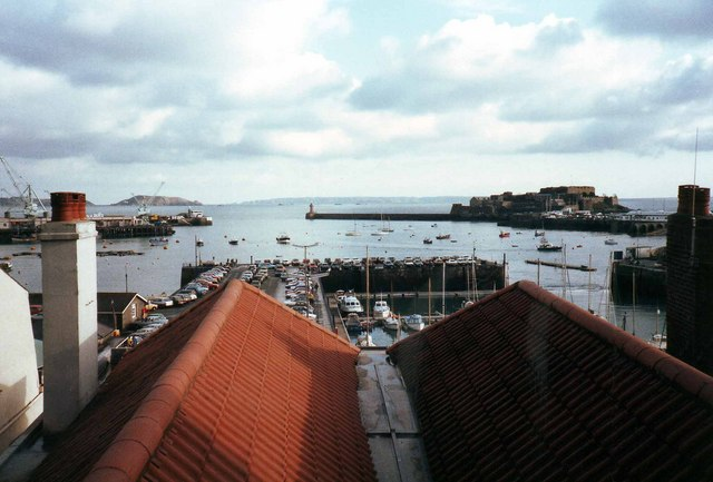 The harbour, St Peter Port, Guernsey