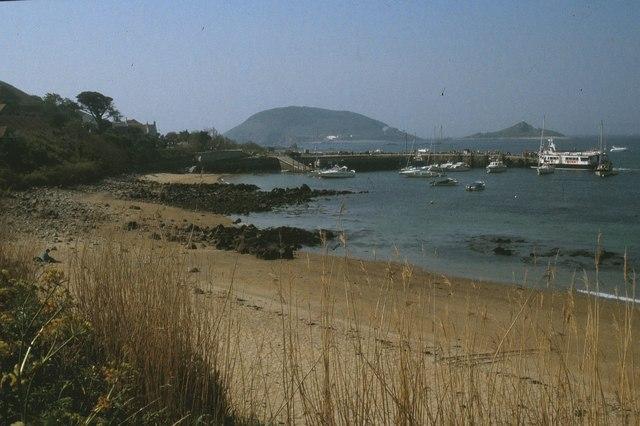 Fishermans Beach, Herm