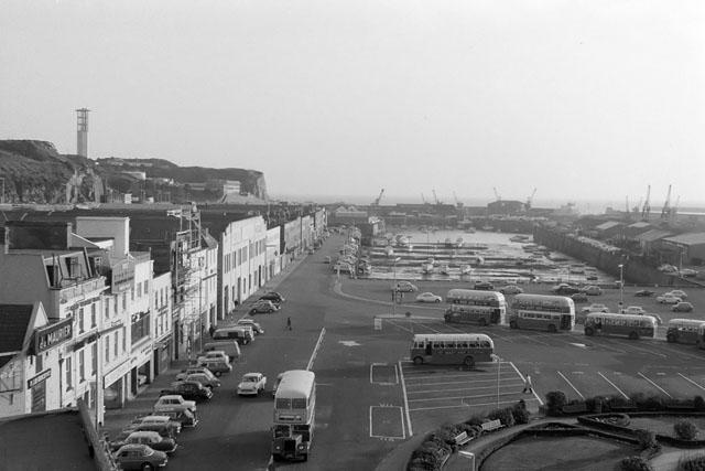 St Helier Harbour, 1967