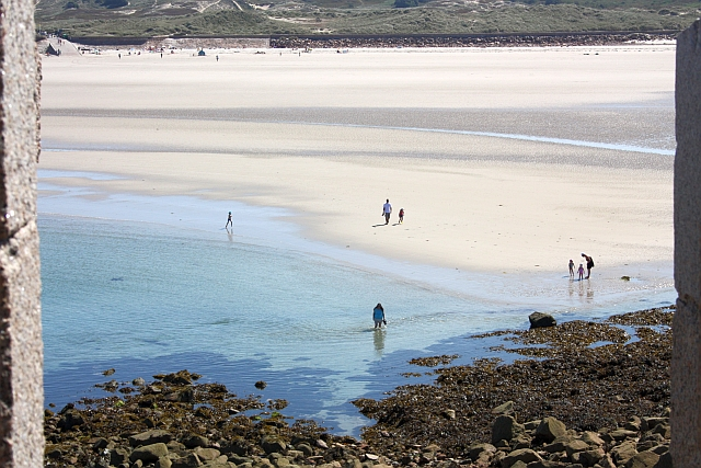 The sands of St. Ouen's Bay