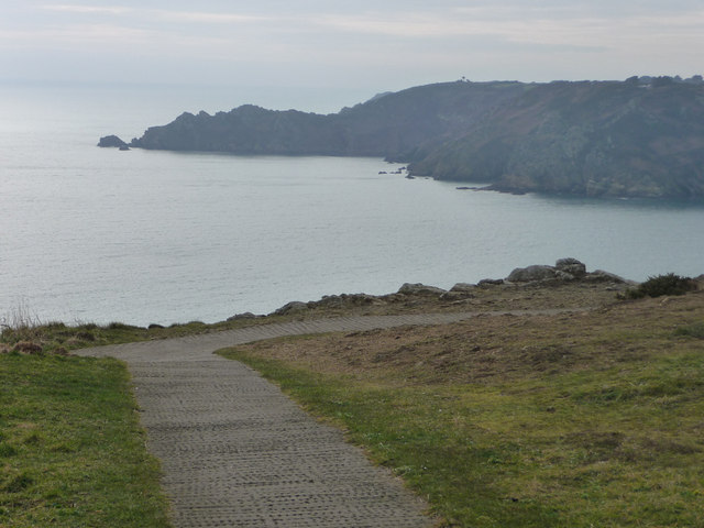 View from near the car park on Icart  Point