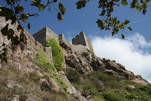 Gorey Castle defences