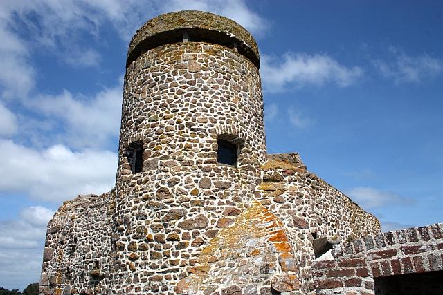 German observation tower, Gorey Castle