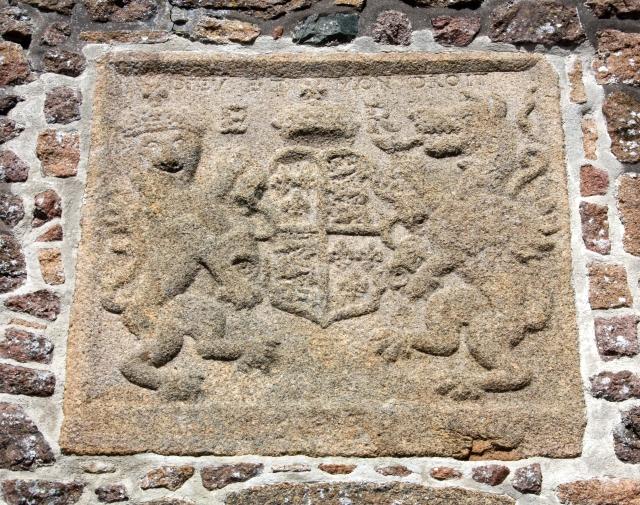 Elizabeth I coat of arms, Gorey Castle