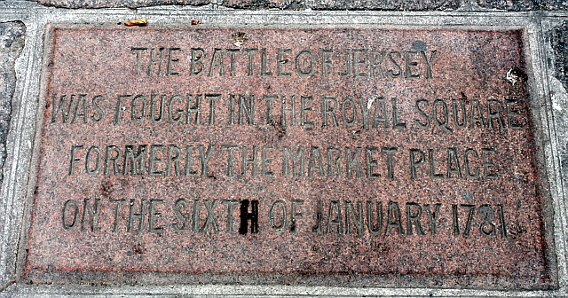 Battle of Jersey, Royal Square, St Helier
