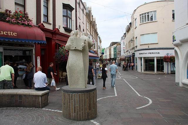 Les Jongleurs, Queen Street,St Helier