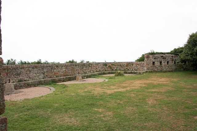 Gun emplacements,  Catel Fort, Le Greve de Lecq
