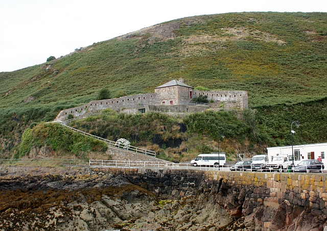 Fort Leicester, Bouley Bay