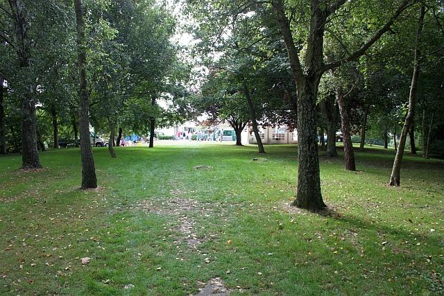 Parkland behind St. Clements Parish Hall