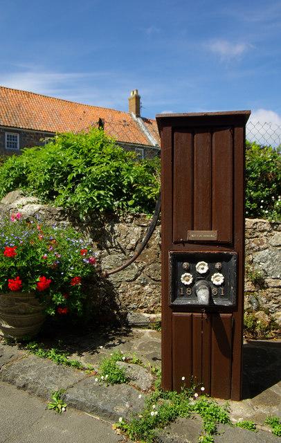 Victorian water pump, Forest Parish, Guernsey