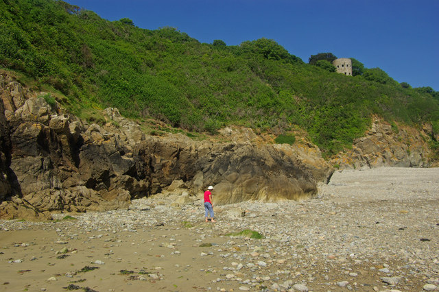 Saint's Bay, Guernsey