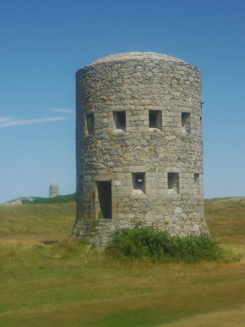 L'Ancresse Loophole Tower no. 6, Guernsey
