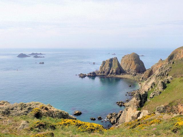 Sister Rocks from Guillemot lookout