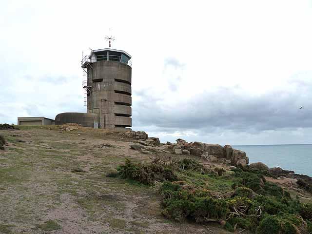 Observation tower at La Corbière