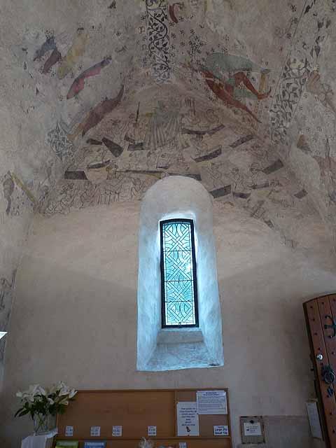 Fresco in the Fisherman's Chapel