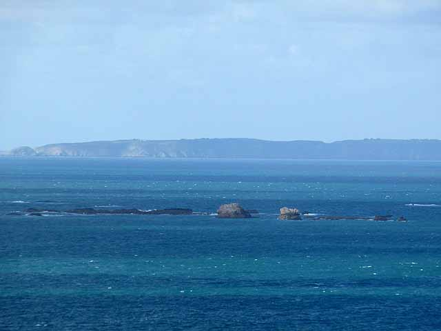 The south coast of Sark