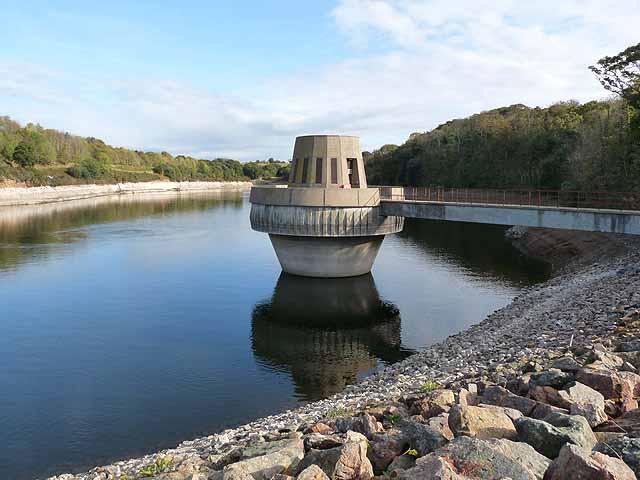Control tower, Queens Valley Reservoir