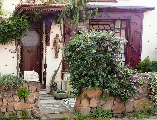 Wistaria Cottage entrance