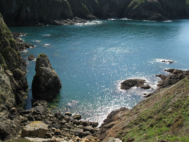 The bay at Devil's Hole
