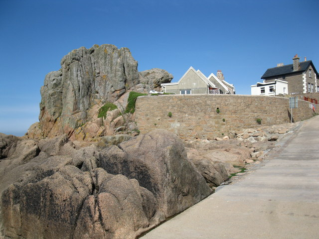 Rocks at Corbiere Point