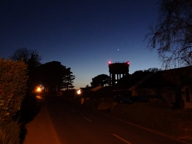 No 2 Well Pumping Station Water Tower and Venus