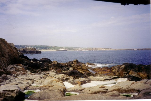 Rocks at Bibette Head