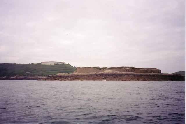North-east corner of Raz Island Fort