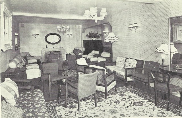 The Lounge of the Hotel Coralie