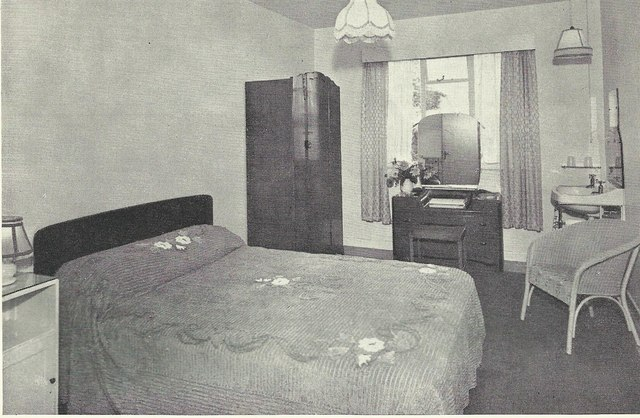 A Bedroom at Hotel Coralie